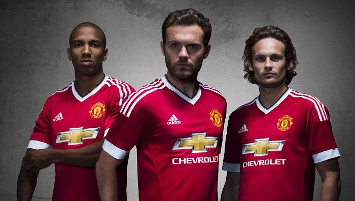 Man Utd home kit 15/16