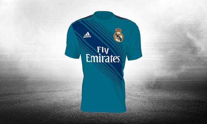 Real Madrid 3rd kit 2017/18