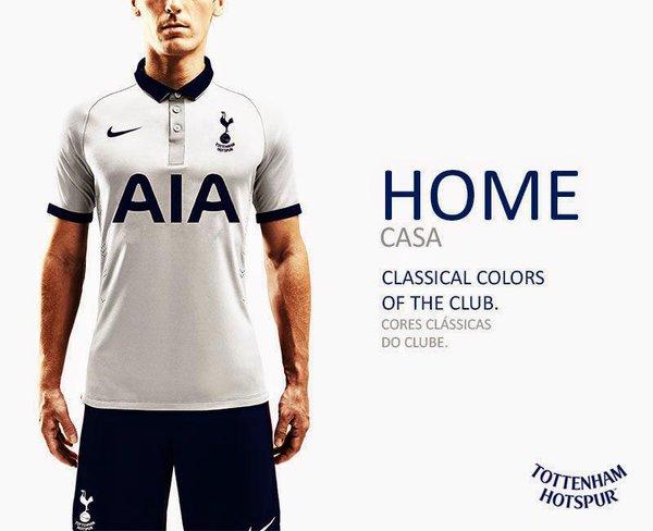 Tottenham home kit 17/18 - maybe . . .