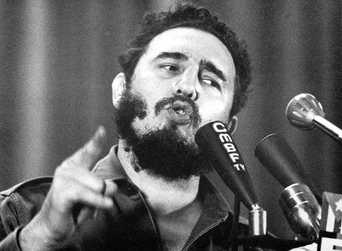 Fidel på talerstolen