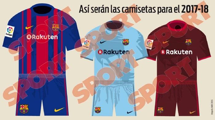 Barcelona kits 2017/18