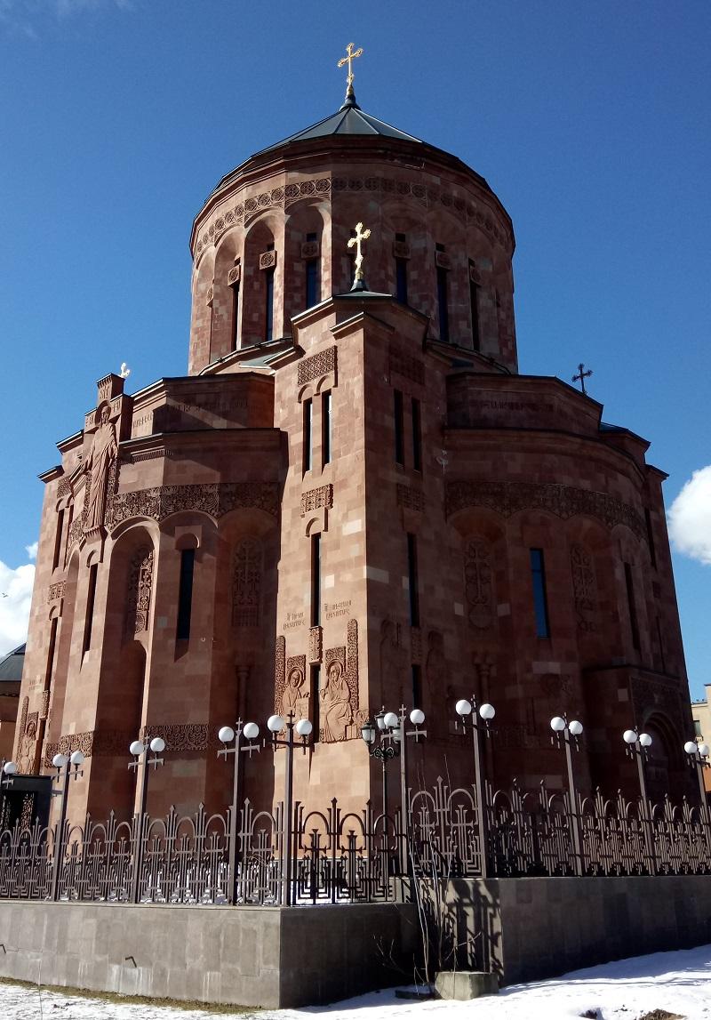 Armenian apolostic Church Moskva