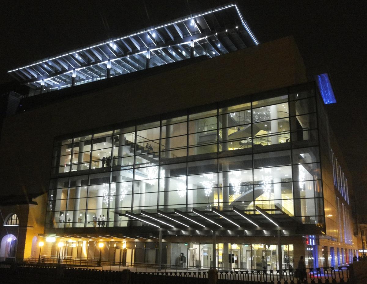 Mariinsky Theatre by night New Scene