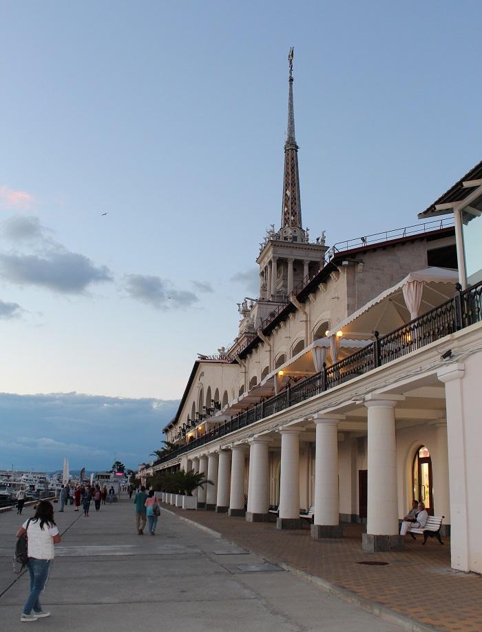Sochi port main building