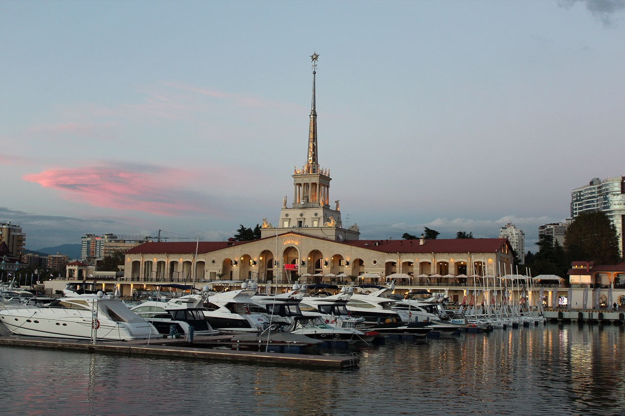 Sochi harbour Sochi port