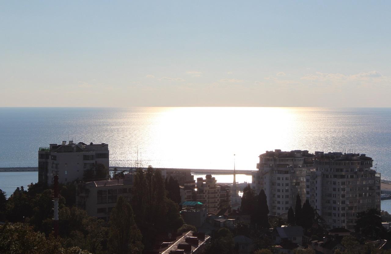 Sochi at sunset