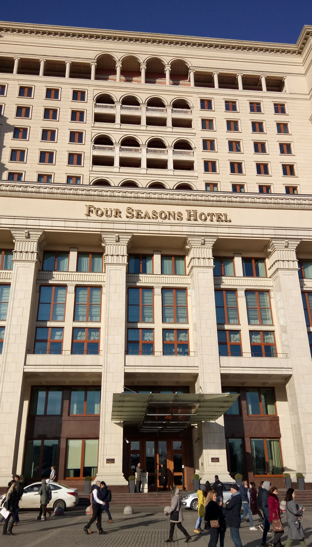 Moskva Four Seasons hotel