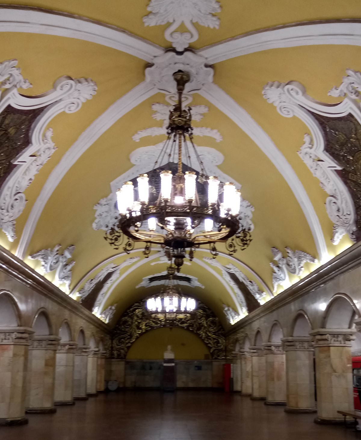 Metro station Kresnoprenskaya