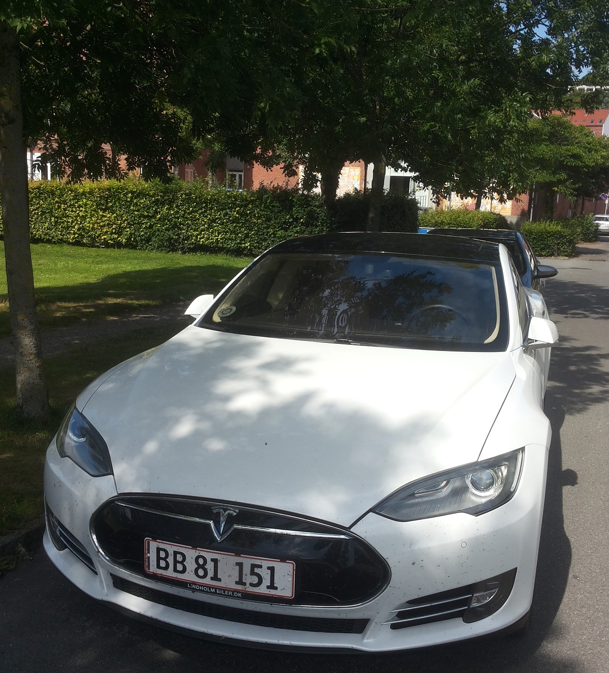 Tesla automobile
