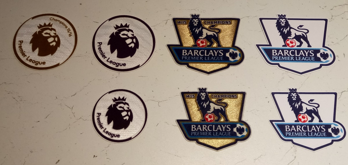 EPL sleeve badges 2016-...