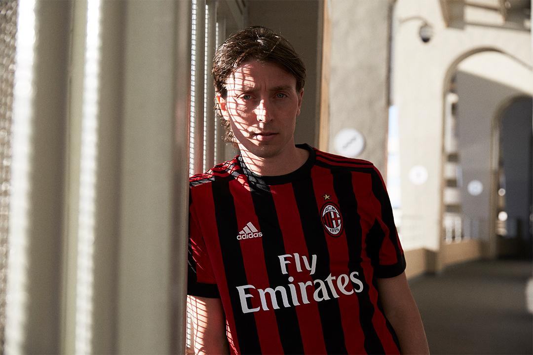AC Milan home kit 17/18