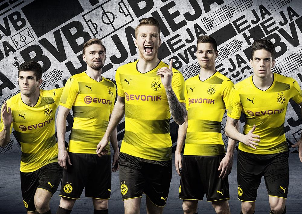 Dortmund soccer kit 17/18