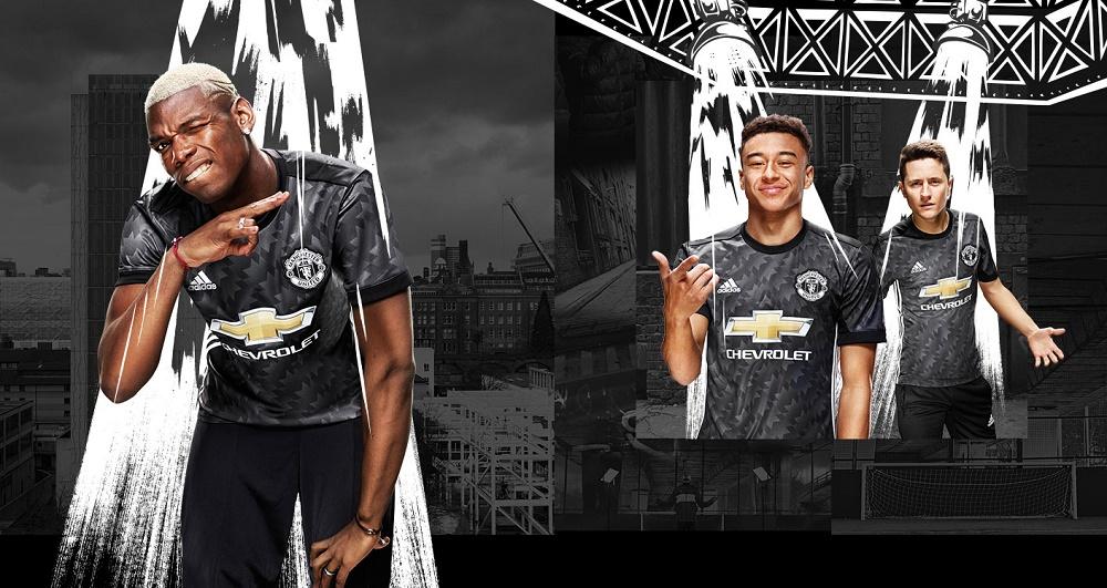 Man United away kit 2017/18