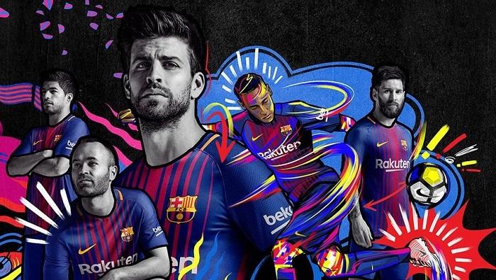 FC Barcelona home kit 17/18