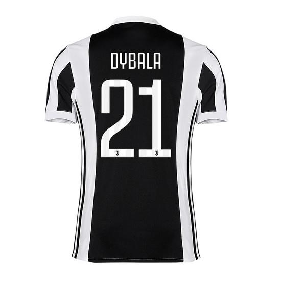 Juventus home player jersey Dybala 21