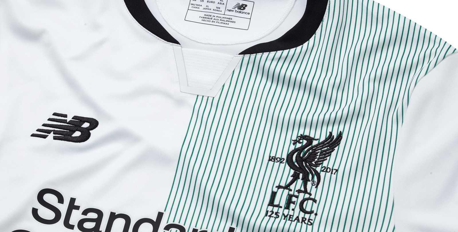 Liverpool away kit details