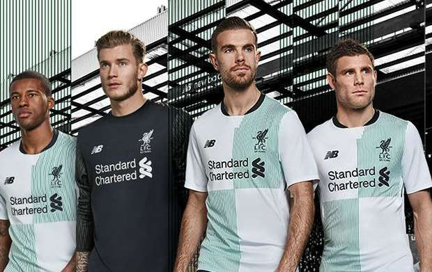 Liverpool away jersey 17/18