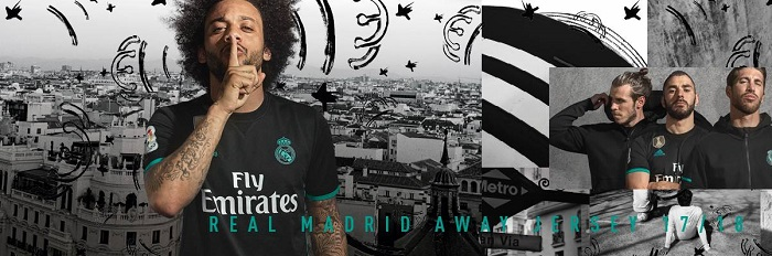 Real Madrid away kit 2017/18