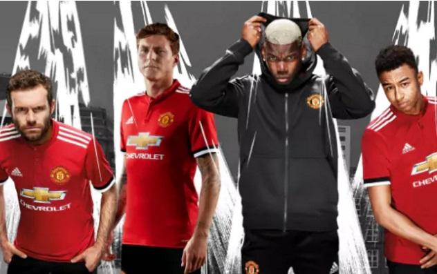 Man Utd home jersey 17/18