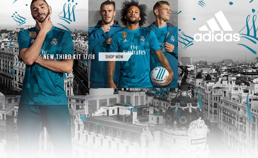 Real Madrid third jersey 17/18