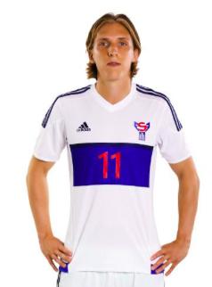 Faroe Islands away jersey