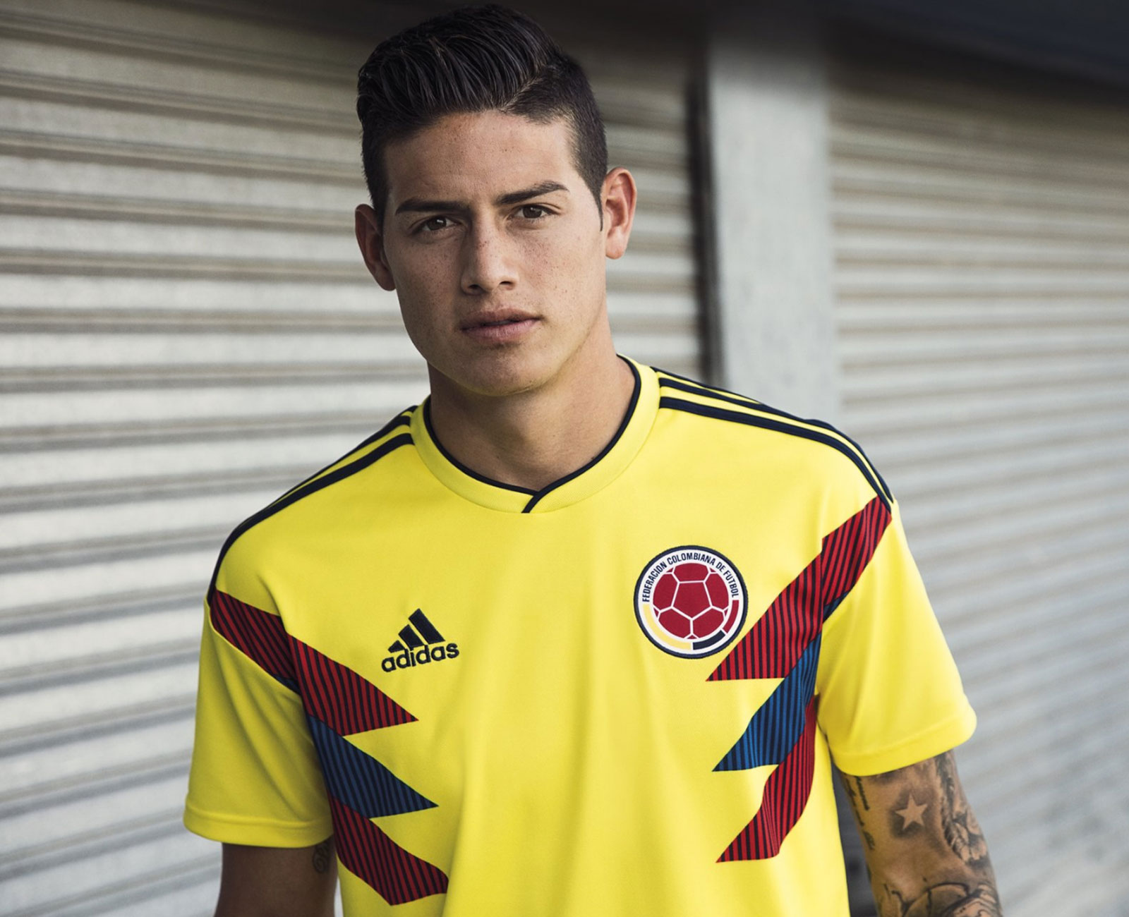 Colombia home jersey 2018