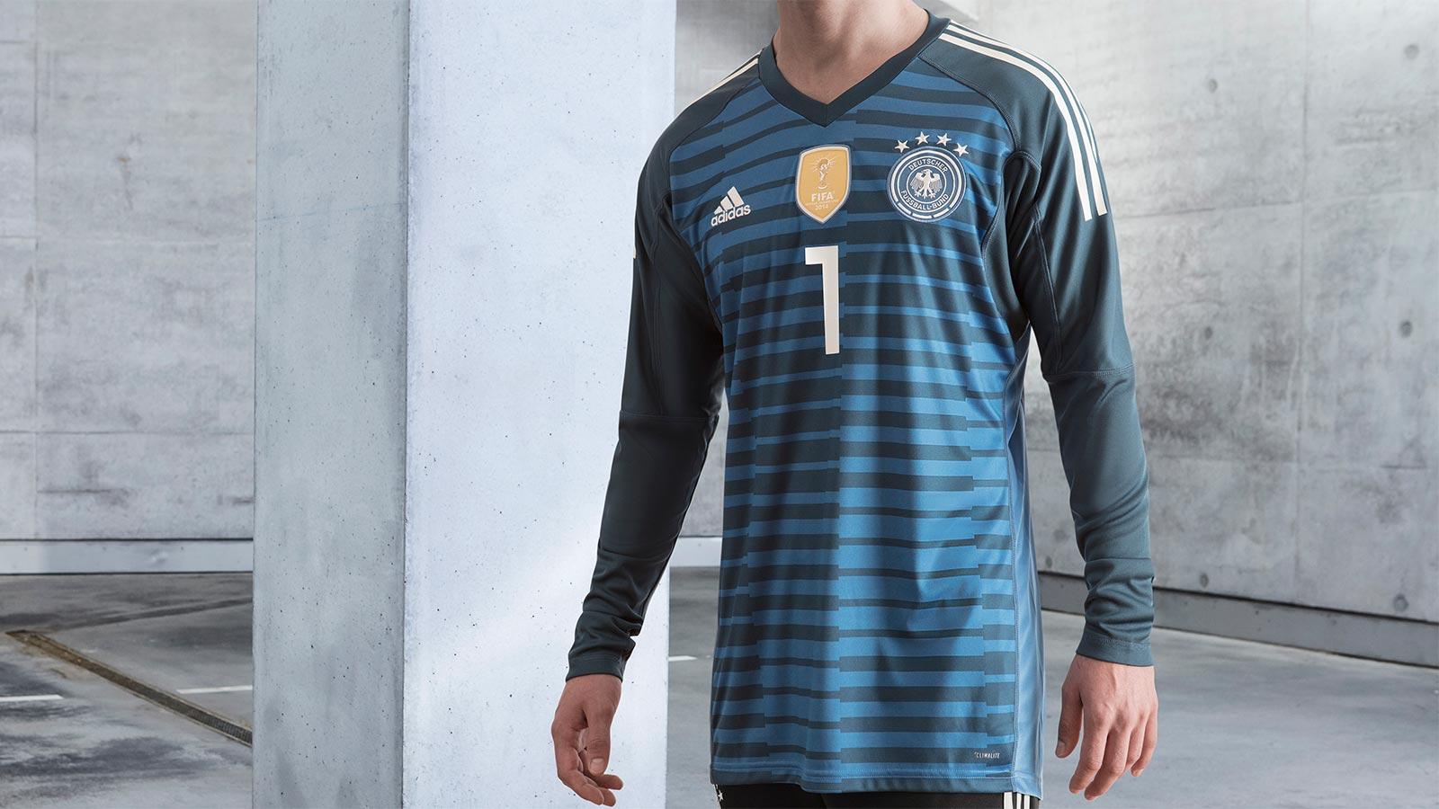Germany goalie home kit 2018