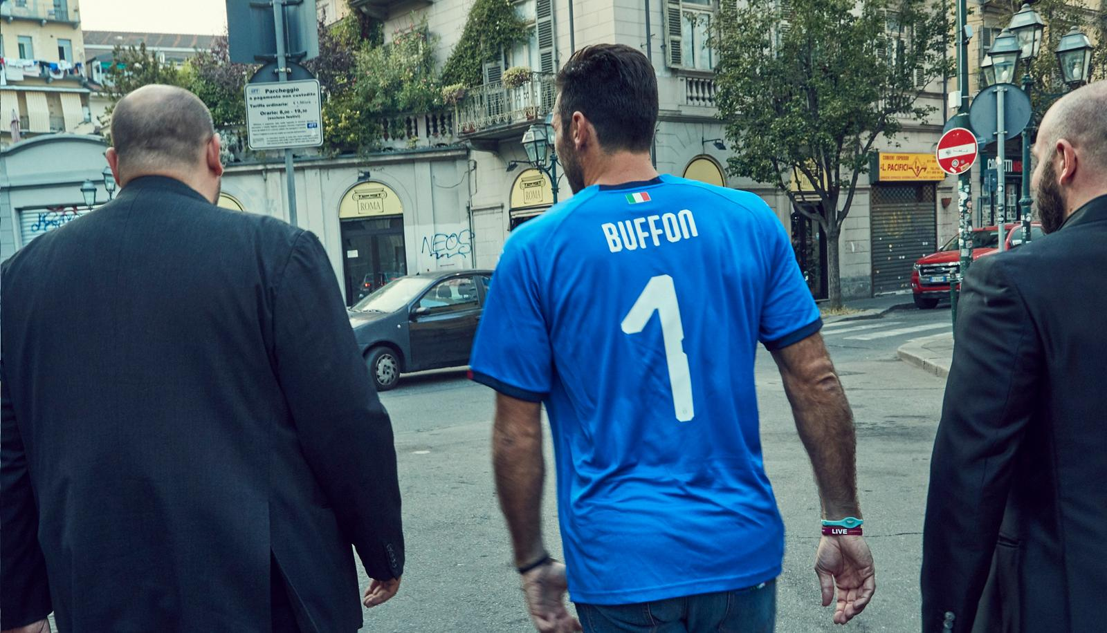 Italy home jersey Buffon 1