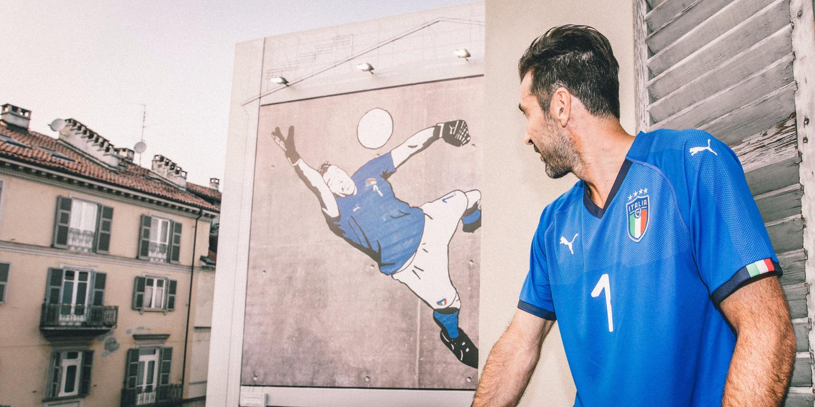 Italy home jersey Buffon