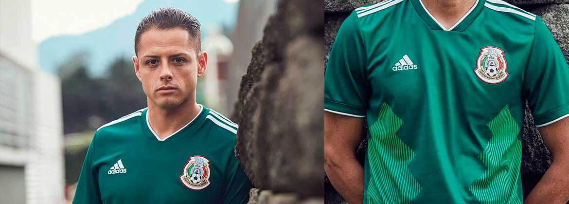 Mexico home kit WC 2018