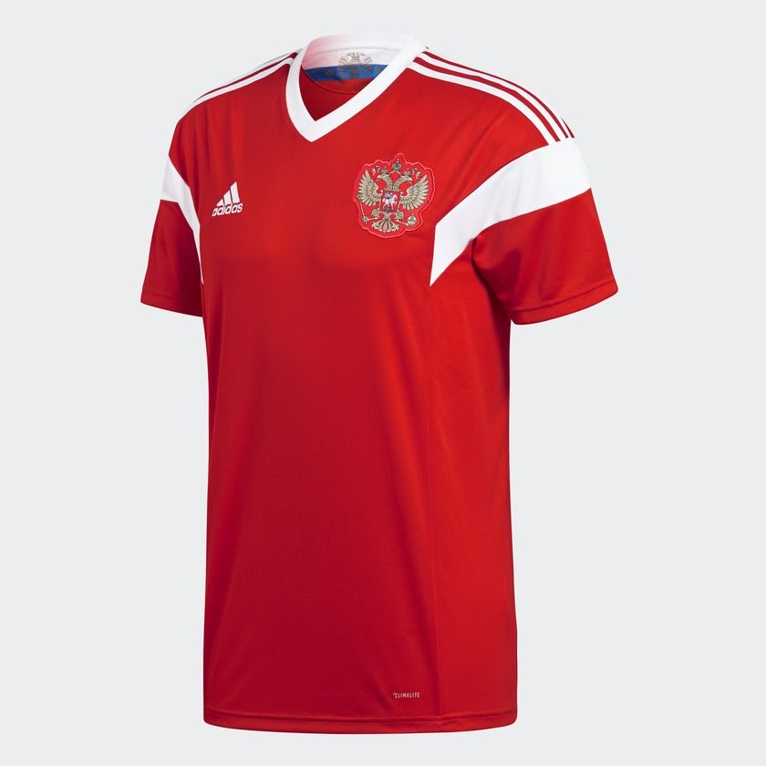 Russia home jersey 2018 WC