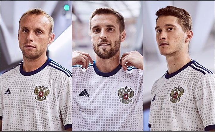 Russia away jersey 2018