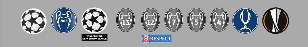 UEFA badges 2018/19