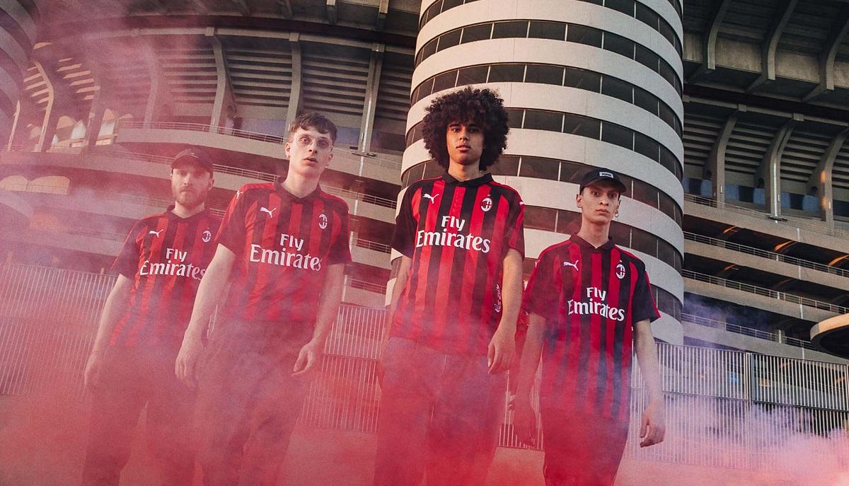 AC Milan home kit 18/19