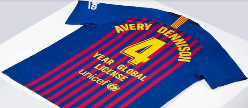 Avery Barcelona home printing