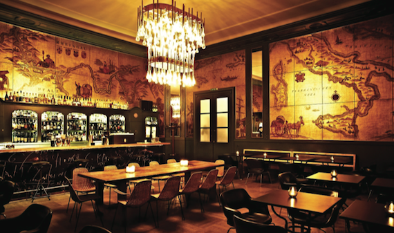 Golden Champagne Bar