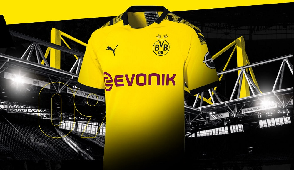 Dortmund home kit stadium