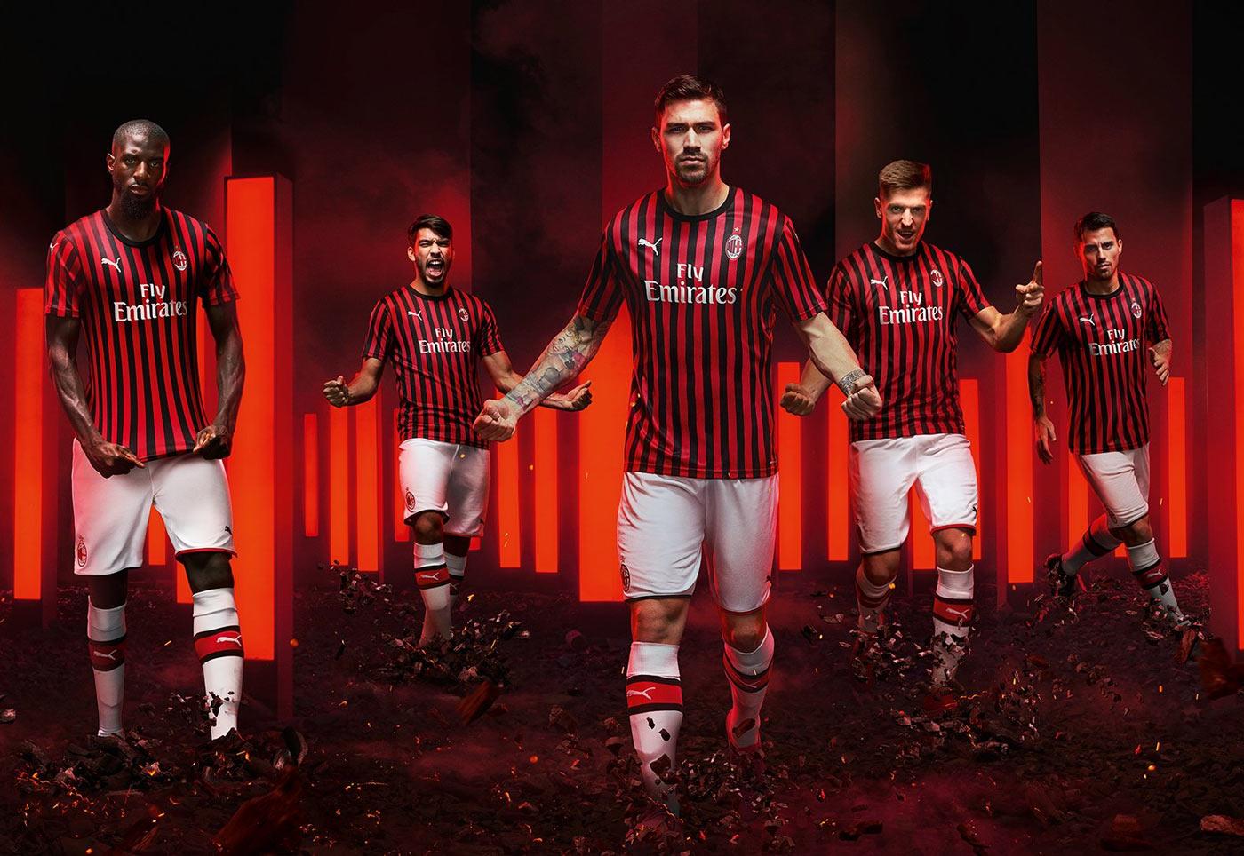AC Milan home kit 19/20