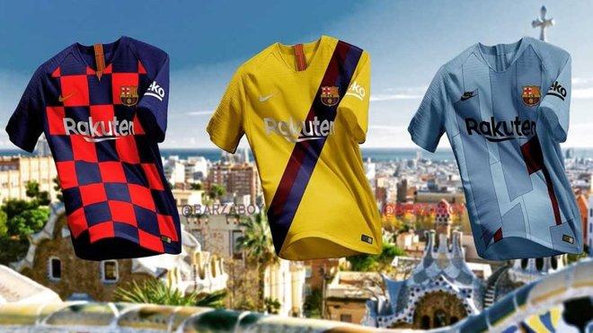 Barcelona kits 19/20