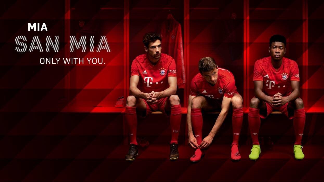 Bayern home jersey 19/20